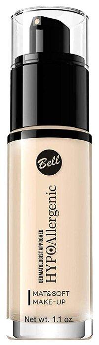 Bell Тональный флюид HypoAllergenic Mat&Soft Make-Up, 30 г — купить по выгодной цене на Яндекс.Маркете