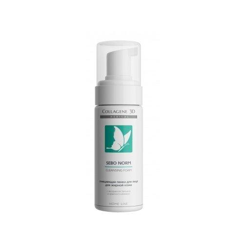 Купить Medical Collagene 3D очищающая пенка для жирной кожи Sebo Norm, 160 мл