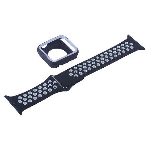 COTEetCI Ремешок W32 Sports Band Suit для Apple Watch 42/44mm черный/белый ремешок для смарт часов coteetci w33 для apple watch series 2 3 4 42 44mm красный