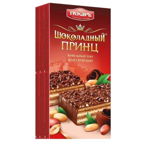 Торт Пекарь Шоколадный принц классический 260 г волжский пекарь слойка с творогом 80 г
