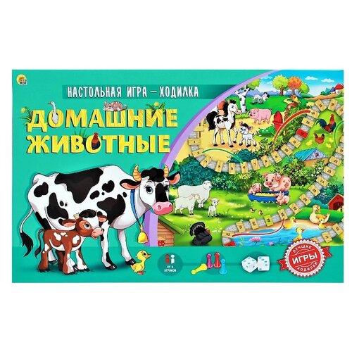 Купить Настольная игра Рыжий кот Домашние животные ИН-9181, Настольные игры