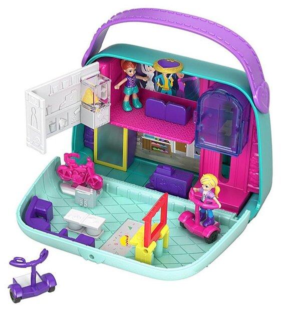 Игровой набор Mattel Polly Pocket - В торговом центре GCJ86