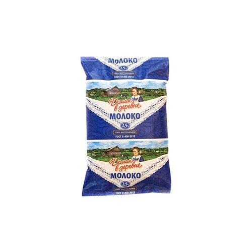 Молоко Домик в деревне ультрапастеризованное 2.5%, 0.9 кг