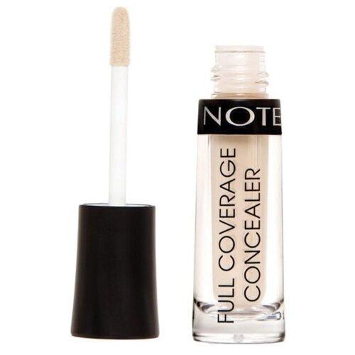Note Консилер Full Coverage Liquid Concealer, оттенок 04 medium sand limoni консилер skin liquid concealer оттенок 02