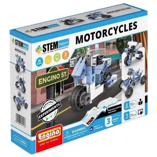 Купить Конструктор ENGINO STEM Heroes STH22 Мотоциклы, Конструкторы