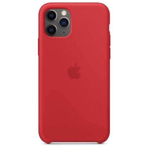 Чехол-накладка Apple силиконовый для iPhone 11 Pro (PRODUCT)RED чехол apple silicone case для iphone 11 pro product red