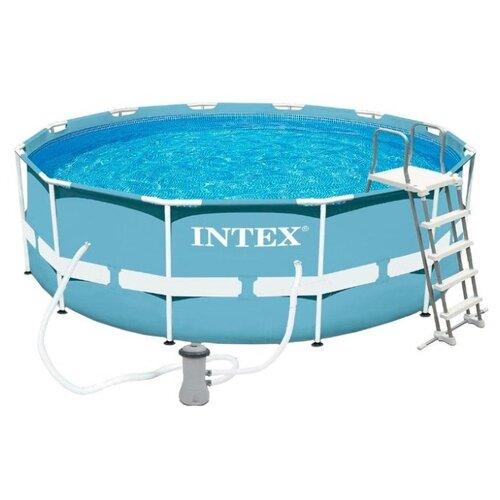 Бассейн Intex Prism Frame 26718 intex бассейн каркасный ultra frame pool