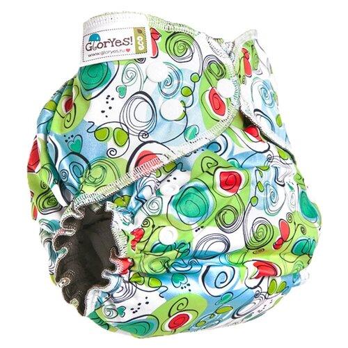 Купить GlorYes! подгузники Optima NEW (3-18 кг) 1 шт. весенний, Подгузники