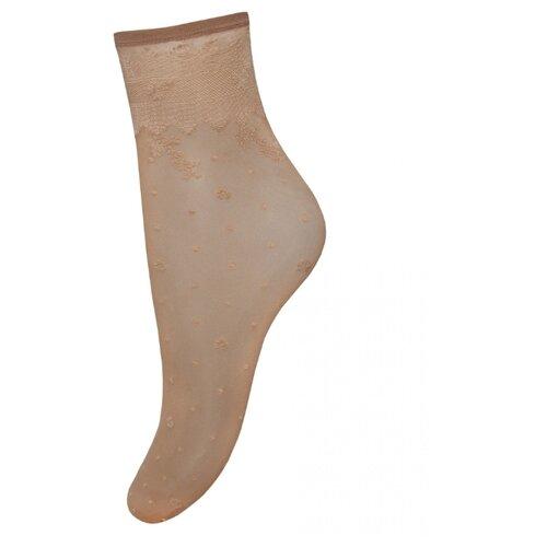 Капроновые носки Trasparenze Dubai (c), размер Unica, dore