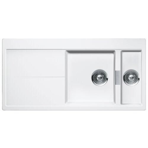 Врезная кухонная мойка 100 см Schock Horizont D-150 поларис врезная кухонная мойка 100 см schock element d 150 оникс
