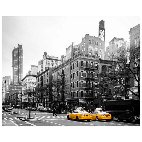 Картина Ekoramka Два такси 50х40 смКартины, постеры, гобелены, панно<br>