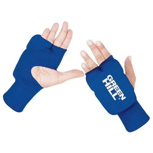 Тренировочные перчатки Green hill HP-6133 для карате синий LДля единоборств<br>