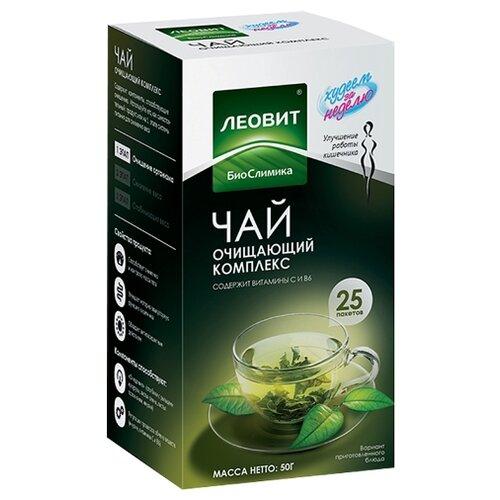 ЛЕОВИТ Худеем за неделю Зеленый чай (очищающий комплекс), 25 шт. в упаковке капучино для похудения худеем за неделю состав