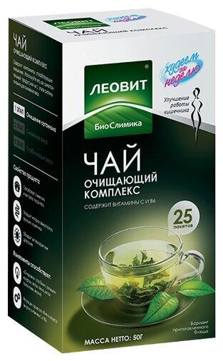 Леовит худеем за неделю чай похудин очищающий N25