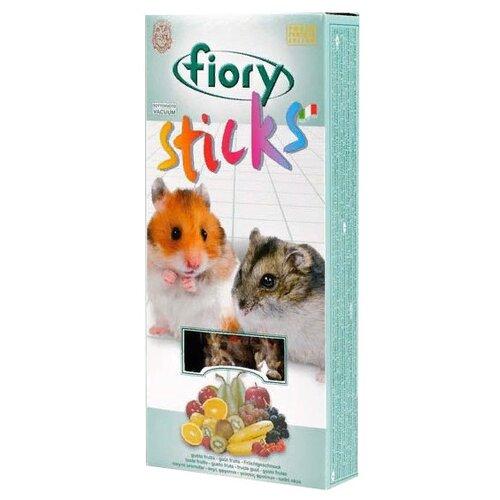 Лакомство для грызунов Fiory Sticks с фруктами 100 г fiory fiory бисквиты для грызунов biscottelli с ягодами 35 г