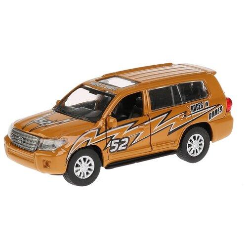 Купить Легковой автомобиль ТЕХНОПАРК Toyota Land Cruiser (CRUISER-S) 12.5 см золотистый, Машинки и техника