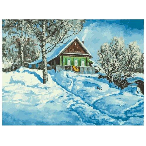 Купить Белоснежка Картина по номерам Домик на горе 30х40 см (279-AS), Картины по номерам и контурам