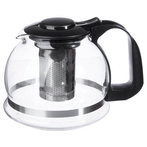 Wuyi Phoenix Household Заварочный чайник 850-101 1,5 л, прозрачный/черный