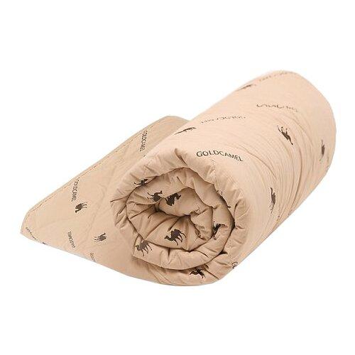 Одеяло Good Night верблюжья шерсть/тик, всесезонное, 172 х 205 см (бежевый) belashoff одеяло караван цвет бежевый 172 x 205 см