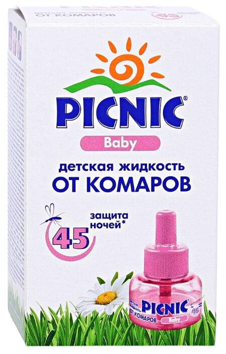 Жидкость для фумигатора Picnic Baby от комаров с экстрактом ромашки 30 мл 45 ночей