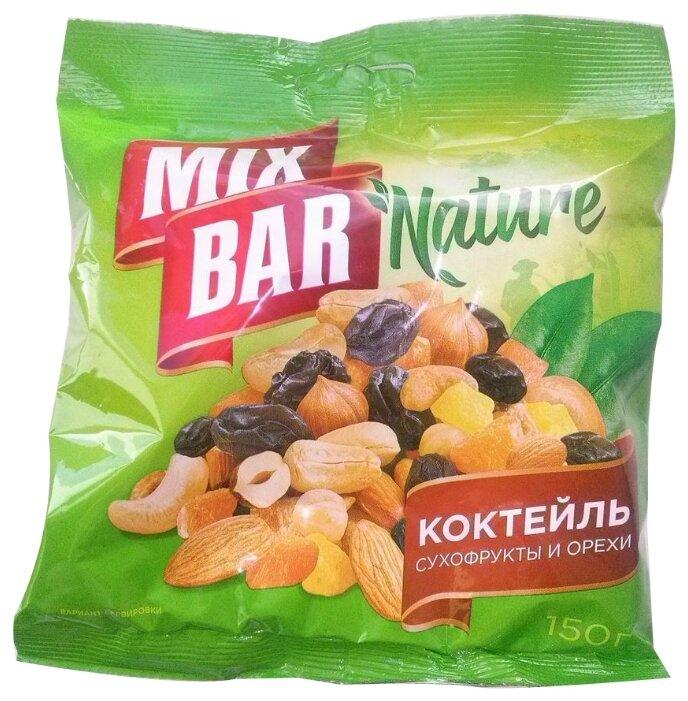 Смесь орехов, сухофруктов и цукатов Mixbar ассорти 150 г