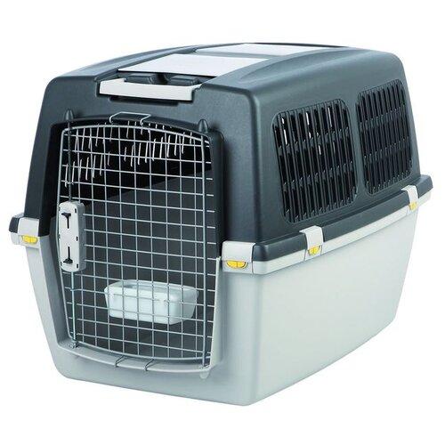Фото - Клиппер-переноска для собак TRIXIE Gulliver 5 M 58х60х79 см светло-серый/темно-серый клиппер переноска для собак imac linus cabrio 50х32х34 см розовый