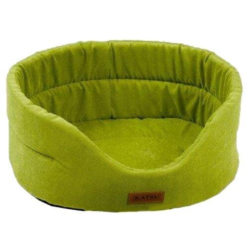 Лежак для собак и кошек Katsu Yohanka Sun 2 46х42х18 см зеленый