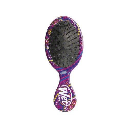 Wet Brush Щетка для спутанных волос Mini Detangler Mandala щетка для спутанных волос pro mini detangler mystical crystals romantic rose quartz