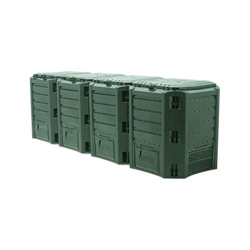 Фото - Компостер Prosperplast IKSM1600Z-G851 (1600 л) зеленый компостер prosperplast ikb900 g851 900 л зеленый
