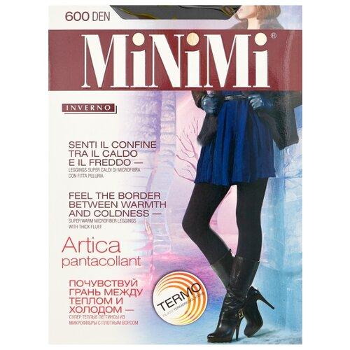Леггинсы MiNiMi Pantacollant Artica 600 den, размер 2-S/M, nero (черный) filodoro deluxe pantacollant леггинсы цвет nero размер s m
