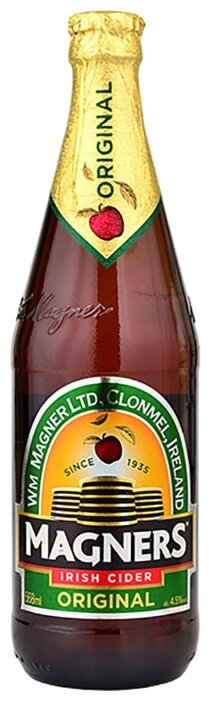 Сидр яблочный Magners Original полусладкий, 0.568 л