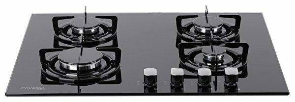 Газовая варочная панель PYRAMIDA PFG 646 BLACK