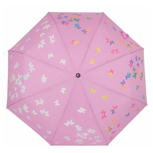 Зонт автомат FLIORAJ Вальс Бабочки розовый зонт складной flioraj flioraj fl976dwente7