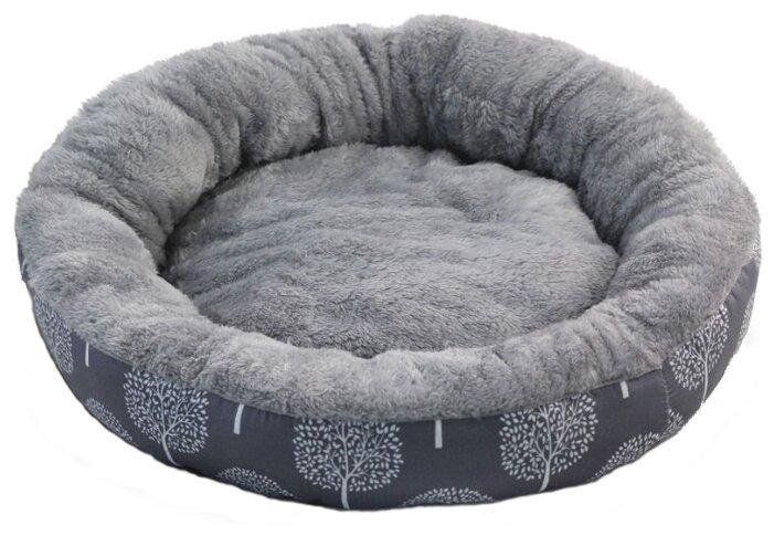 Лежак для собак Triol Сказочный лес S круглый 53х53х10 см