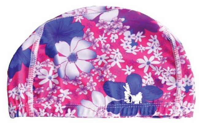 Шапочка для плавания BRADEX полиэстер розовый/синий