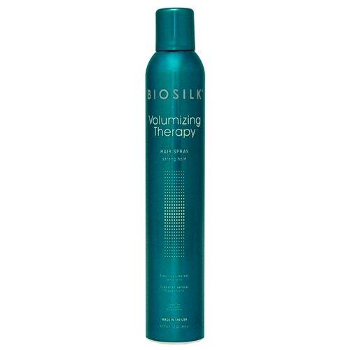 Фото - Biosilk Лак для волос Volumizing therapy, сильная фиксация, 340 г biotech nutrition nitrox therapy 340 г