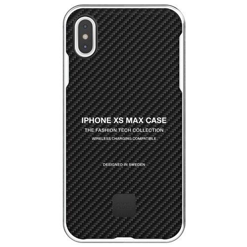 Чехол-накладка Happy Plugs 9332 для Apple iPhone Xs Max carbon fiber чехол накладка happy plugs 9337 для apple iphone xs max botanica exotica