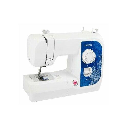 Фото - Швейная машина Brother M-14, бело-синий швейная машина brother artcity 170s бело синий
