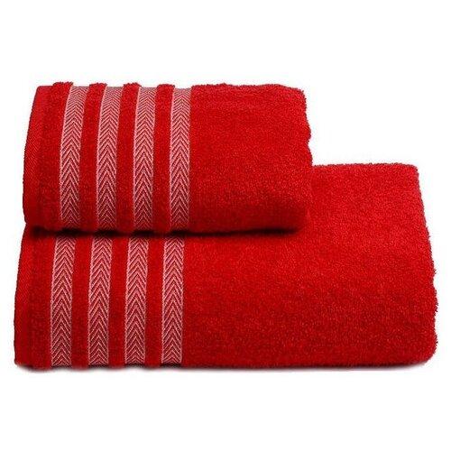 ДМ Полотенце Zefiro банное 70х130 см красный