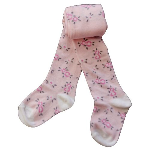 Купить Колготки АЙАС размер 116/122, розовый/цветы