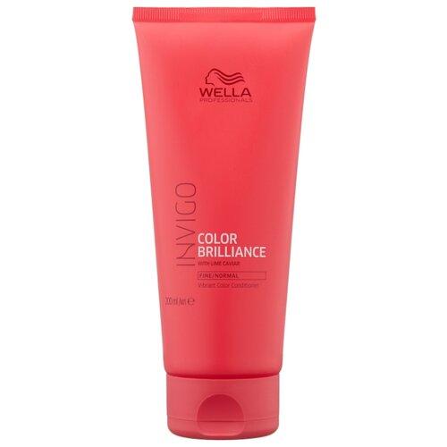 Фото - Wella Professionals бальзам-уход Invigo Color Brilliance Fine/Normal для защиты цвета окрашенных нормальных и тонких волос, 200 мл wella professionals invigo color brilliance gift set