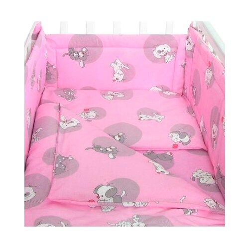 Купить Фея пододеяльник Наши друзья 110 х 140 см розовый, Постельное белье и комплекты