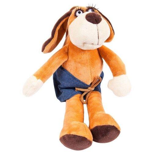 Мягкая игрушка ABtoys Собака в шортах 15 см