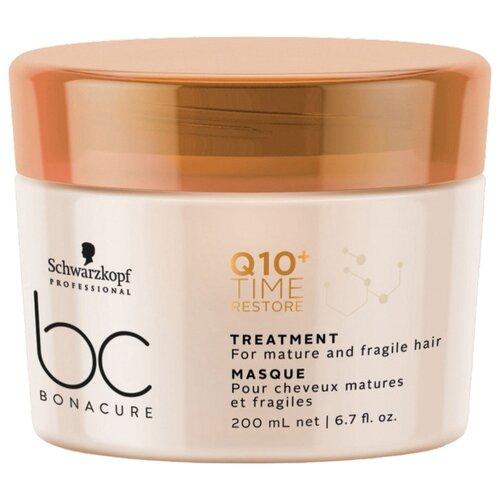 Фото - BC Bonacure Q10+ Time Restore Маска для волос смягчающая, 200 мл bc bonacure keratin smooth perfect маска для гладкости волос 750 мл