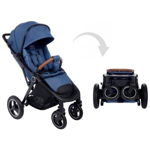 Прогулочная коляска SWEET BABY Suburban Compatto Air jeans прогулочная коляска sweet baby suburban compatto black