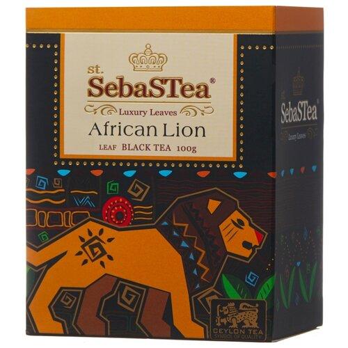 Чай черный SebaSTea African lion, 100 г чай листовой зеленый sebastea chinesse dragon 100 г