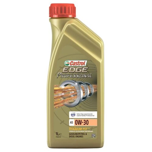 Моторное масло Castrol Edge Professional A5 0W-30 1 л моторное масло castrol edge 0w 30 a5 b5 4 л