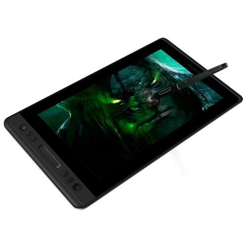 Интерактивный дисплей HUION KAMVAS PRO 13 черный huion h1060p