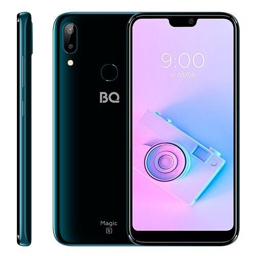 Фото - Смартфон BQ 5731L Magic S темно-синий сотовый телефон bq 5731l magic s ultra violet