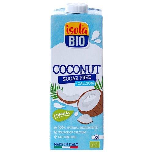 Напиток Isola Bio кокосовый с добавлением кальция, без сахара, 1 л